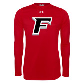 Under Armour Red Long Sleeve Tech Tee-F