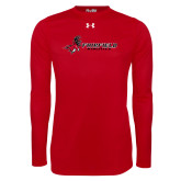 Under Armour Red Long Sleeve Tech Tee-Athletics