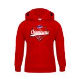 Youth Red Fleece Hood-2016 MAAC Baseball Champions