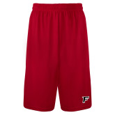 Syntrel Performance Red 9 Inch Length Shorts-Stags