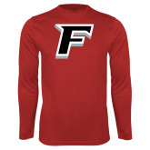 Performance Red Longsleeve Shirt-F