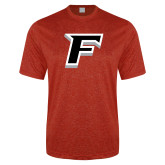 Performance Red Heather Contender Tee-F