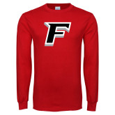Red Long Sleeve T Shirt-F
