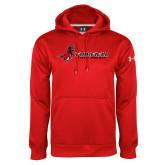 Under Armour Red Performance Sweats Team Hoodie-Field Hockey