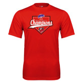Syntrel Performance Red Tee-2016 MAAC Baseball Champions