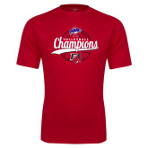 Syntrel Performance Red Tee-2016 MAAC Volleyball Champions