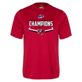Syntrel Performance Red Tee-2017 MAAC Softball Champions - Plate