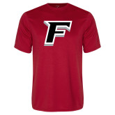 Performance Red Tee-F
