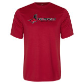 Performance Red Tee-Athletics