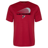Performance Red Tee-Lacrosse Modern
