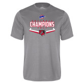Syntrel Performance Steel Tee-2017 MAAC Softball Champions - Plate