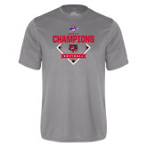 Syntrel Performance Steel Tee-2017 MAAC Softball Champions - Diamond