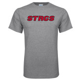 Sport Grey T Shirt-Stags