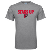 Sport Grey T Shirt-Stags Up