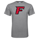Grey T Shirt-F Distressed