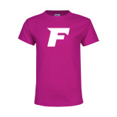 Youth Cyber Pink T Shirt-F