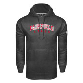 Under Armour Carbon Performance Sweats Team Hood-Fairfield Stags Stacked
