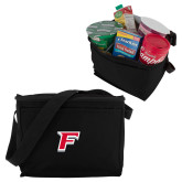 Koozie Six Pack Black Cooler-F