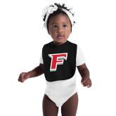 Black Baby Bib-F
