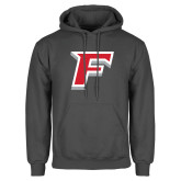 Charcoal Fleece Hood-F