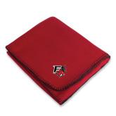 Red Arctic Fleece Blanket-Official Logo