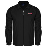 Full Zip Black Wind Jacket-Stags
