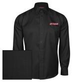 Red House Black Herringbone Long Sleeve Shirt-Stags