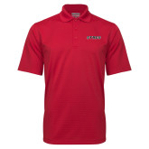 Red Mini Stripe Polo-Stags