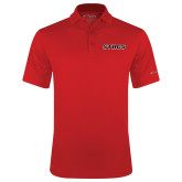 Columbia Red Omni Wick Drive Polo-Stags