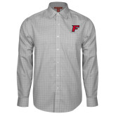 Red House Grey Plaid Non Iron Long Sleeve Shirt-Official Logo