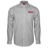 Red House Grey Plaid Non Iron Long Sleeve Shirt-Stags