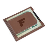 Cutter & Buck Chestnut Money Clip Card Case-F Engraved