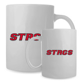 Full Color White Mug 15oz-Stags