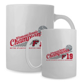 Full Color White Mug 15oz-2019 Womens Tennis Conference Champions