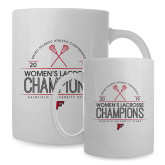 Full Color White Mug 15oz-2019 Womens Lacrosse Champions