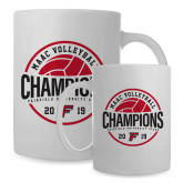 Full Color White Mug 15oz-2019 Volleyball Champions