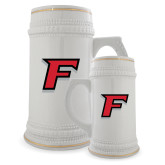 Full Color Decorative Ceramic Mug 22oz-F