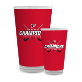 Full Color Glass 17oz-2017 Field Hockey Champions