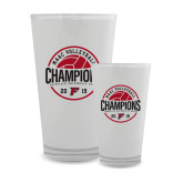Full Color Glass 17oz-2019 Volleyball Champions