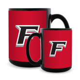 Full Color Black Mug 15oz-F