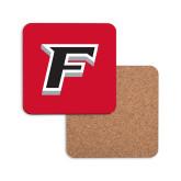Hardboard Coaster w/Cork Backing-F