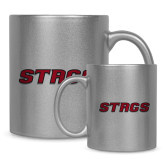 Full Color Silver Metallic Mug 11oz-Stags