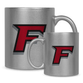 Full Color Silver Metallic Mug 11oz-F