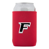 Collapsible Red Can Holder-F
