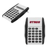White Flip Cover Calculator-Stags