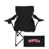 Deluxe Black Captains Chair-Fairfield Stags Stacked