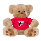 Plush Big Paw 8 1/2 inch Brown Bear w/Red Shirt-F