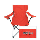 Deluxe Red Captains Chair-Fairfield Stags Stacked