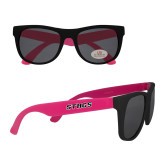 Black/Hot Pink Sunglasses-Stags