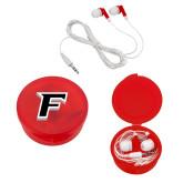 Ear Buds in Red Case-F